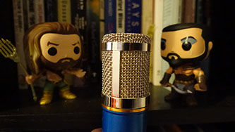 Aquaman, Khal Drogo, and a Voice Over Microphone